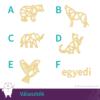 Kép 2/4 - Geometrikus állatok medál választék