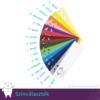 Kép 3/3 - Monogramos kísérő cédula szögletes, több színben