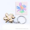 Kép 1/4 - Gyerekrajzból gravírozott kulcstartó, több színben