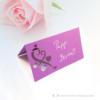 Kép 1/5 - Írható papír ültető kártya szív, több színben