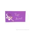 Kép 3/5 - Írható papír ültető kártya szív, több színben