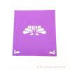 Kép 2/3 - Írható papír ültető kártya virág, több színben