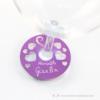 Kép 1/5 - Írható papír pohár jelölő szíves, több színben