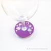 Kép 4/5 - Írható papír pohár jelölő szíves, több színben