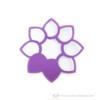 Kép 2/5 - Írható papír pohár jelölő virág, több színben