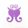Kép 2/5 - Írható papír pohár jelölő pillangó, több színben