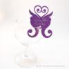 Kép 3/5 - Írható papír pohár jelölő pillangó, több színben