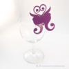 Kép 1/5 - Írható papír pohár jelölő pillangó, több színben