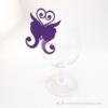 Kép 4/5 - Írható papír pohár jelölő pillangó, több színben