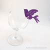 Kép 3/4 - Írható papír pohár jelölő madár, több színben