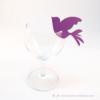 Kép 1/4 - Írható papír pohár jelölő madár, több színben