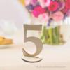 Kép 1/3 - Asztal szám, több színben