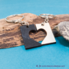 Kép 1/4 - Kivágott szív páros kulcstartó