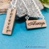 Kép 1/4 - Always, Forever páros nyaklánc