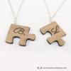 Kép 2/4 - Puzzle páros nyaklánc