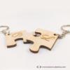 Kép 3/3 - Puzzle páros kulcstartó