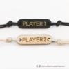 Kép 2/4 - Player 1, Player 2, páros karkötő