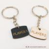 Kép 3/3 - Player 1, Player 2, páros kulcstartó