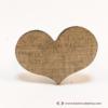 Kép 2/3 - Diófa szív gyűrű