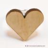 Kép 3/5 - Nyírfa szív gyűrű, több színben