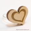Kép 4/5 - Szív a szívben gravírozott gyűrű, több színben