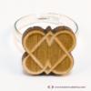 Kép 3/5 - Szív kapocs gyűrű, több színben
