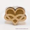 Kép 3/5 - Szív és végtelen gyűrű, több színben