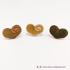 Kép 2/5 - Gravírozott nyírfa szívecske gyűrű, több színben