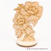 Kép 2/3 - Gravírozott Rózsa, több színben