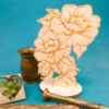 Kép 1/3 - Gravírozott Rózsa, több színben