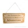 Kép 1/2 - Gyűrűk Ura témájú akasztható ajtó tábla adventure, több színben