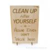Kép 2/5 - Harry Potter témájú álló vagy fali dekor Clean Up, több színben