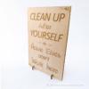 Kép 1/5 - Harry Potter témájú álló vagy fali dekor Clean Up, több színben