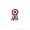 Kép 1/3 - Kokárda piros fehér zöld kitűző