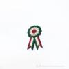 Kép 1/3 - Kokárda zöld fehér piros kitűző