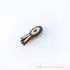 Kép 2/3 - Kokárda zöld fehér piros kitűző
