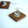 Kép 1/4 - Hegyikristály szögletes fülbevaló