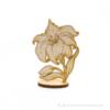 Kép 3/4 - Gravírozott Álló virág, több színben