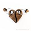 Kép 3/5 - Páros gravírozott diófa kulcstartó