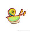 Gyerekrajzból újraszínezhető figurák