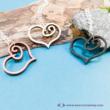 Rajzolt szívecske nyaklánc
