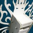Gondor fehér fája ékszertartó állvány