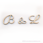 Egyedi monogramok székre köthető feliratok, több színben