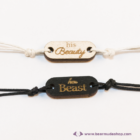 His Beauty, Her Beast páros karkötő