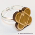 Szív kapocs gyűrű, több színben
