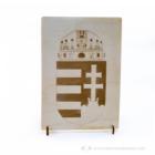 Magyar címer fali / álló dekor, több színben