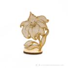Gravírozott Álló virág, több színben