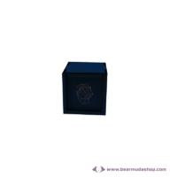 Egyedi mintás fa doboz, négyzet alapú 5x5, több színben