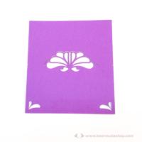 Írható ültető kártya virág, több színben