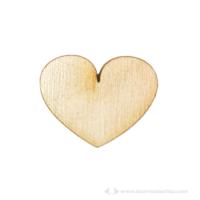 Fa közepes szív tábla alapok